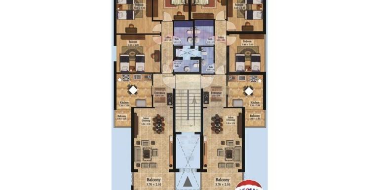 شقق جاهزة للبيع بالتقسيط في دده – الكورة